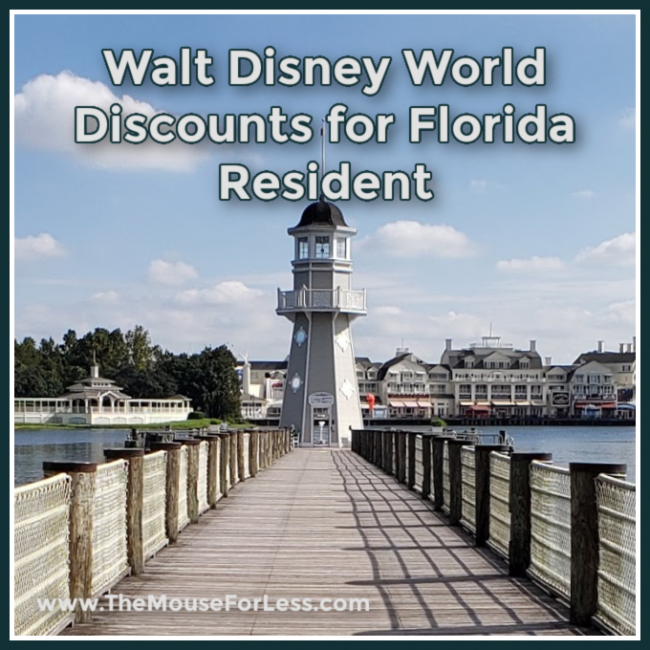 Disney World Discounts for Florida Resident