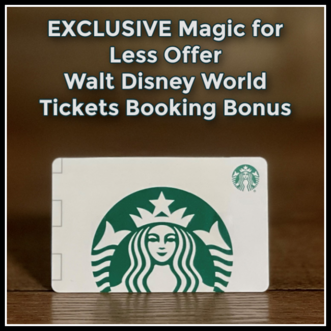THE MAGIC FOR LESS TRAVEL BOOKING BONUS