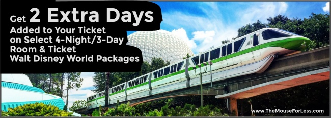 Walt Disney World Two Extra Days Promotion