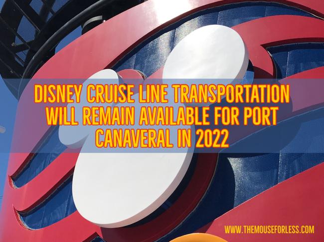 Disney Cruise Line Transportation