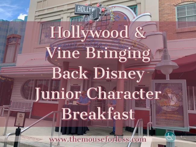 Disney Junior Character Breakfast