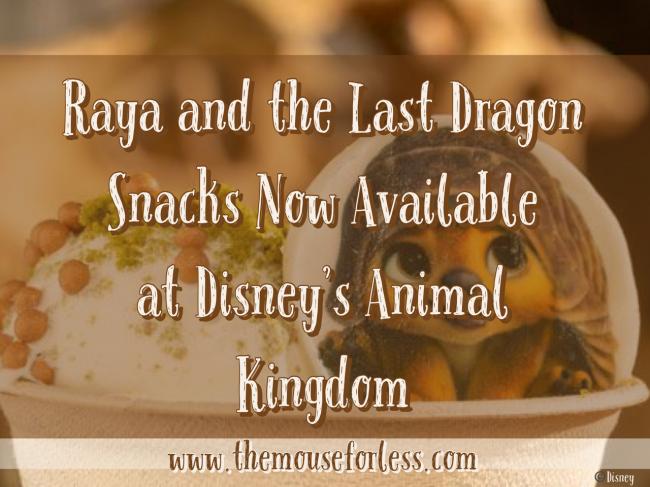 Raya and the Last Dragon Treats