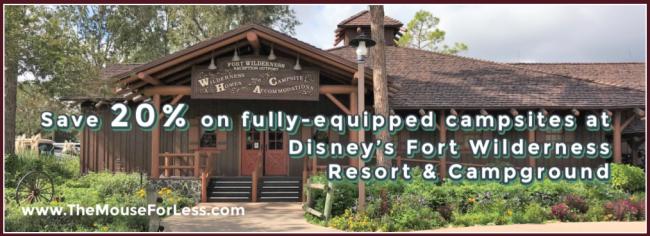 Disney's Fort Wilderness Resort & Campground Discount