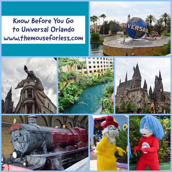Know Before you go to Universal Orlando