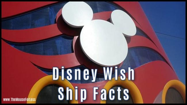 Disney Wish Ship Facts