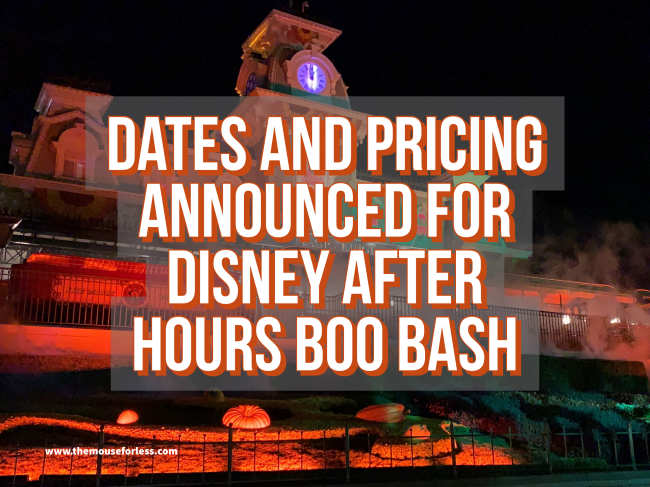 Disney After Hours Boo Bash