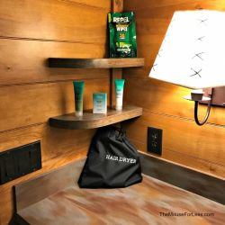 Fort Wilderness Bathroom Counter