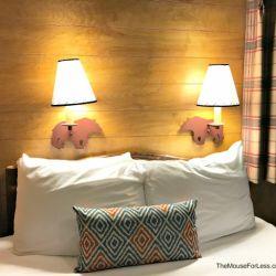 Fort Wilderness Bedroom Lights
