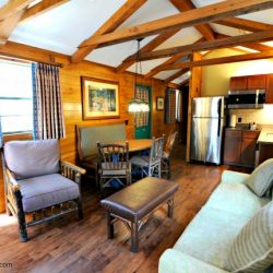 Fort Wilderness Living Room and Kitchen