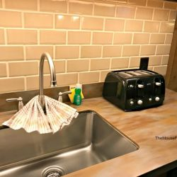 Fort Wilderness Sink and Toaster