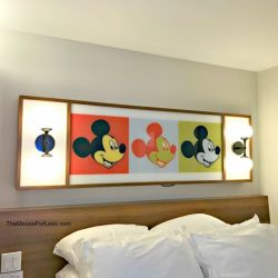 Pop Century Mickey Light