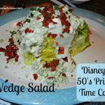 Disney's 50's Prime Time Cafe Appetizer