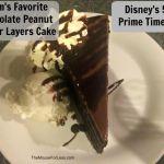 Disney's 50's Prime Time Cafe Dessert