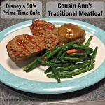 Disney's 50's Prime Time Cafe Entrees