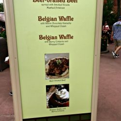 Epcot Food & Wine Festival - Belgium Booth
