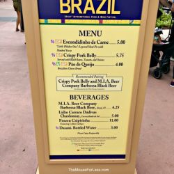 Epcot Food & Wine - Brazil Booth