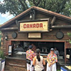 Epcot Food & Wine Festival - Canada Booth