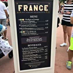 Epcot Food & Wine Festival - France Booth