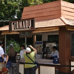 Epcot Food & Wine Festival - Germany booth