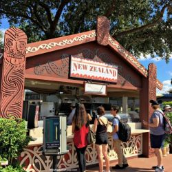 Epcot Food & Wine Festival - New Zealand Booth