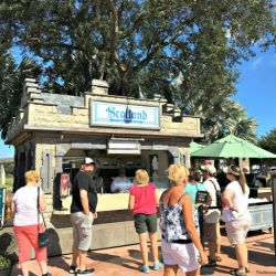 Epcot Food & Wine Festival - Scotland Booth