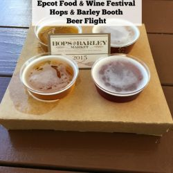 Epcot Food & Wine Festival - Hops & Barley Booth