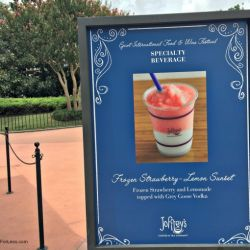 Epcot Food & Wine Festival - Joffrey's Booth