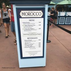 Epcot Food & Wine Festival - Morocco Booth