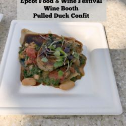 Epcot Food & Wine Festival - Wine & Dine Booth