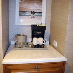Beach Club Resort Room Coffee Maker