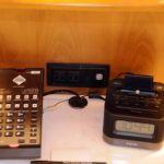 Beach Club Resort Room Phone & Clock