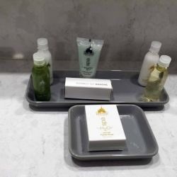 Beach Club Resort Room Toiletries