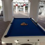 Pool Table on Sun Deck