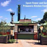 Epcot Flower and Garden-Primavera Kitchen