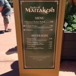Epcot Flower and Garden-Taste of Marrakesh