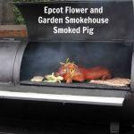 Epcot Flower and Garden Smokehouse