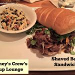 Crews Cup Sandwiches and Entrees