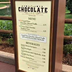 Epcot Food & Wine Festival - Chocolate Studio Booth