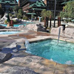 Wilderness Lodge Hot Tubs