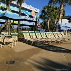 Art of Animation Flippin' Fins Pool Seating