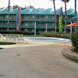 All Star Sports Surfboard Bay Kiddie Pool