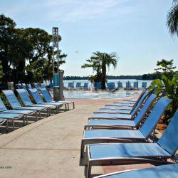 Bay Lake Tower Resort Pool Seating