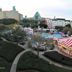 Disney's BoardWalk Inn Luna Park Pool