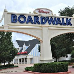 Boardwalk Villas Sign
