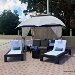 Bay Lake Tower Resort Cabana