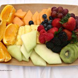 Bay Lake Tower Resort Fruit Tray