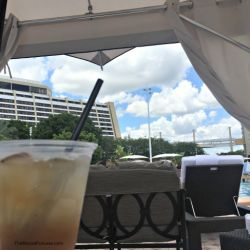 Bay Lake Tower Resort Cabana Drink Option