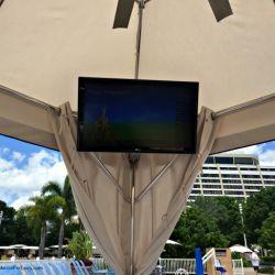 Bay Lake Tower Resort Cabana TV