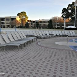 Contemporary Resort Pool Seating