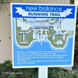 Bay Lake Tower Running Trail